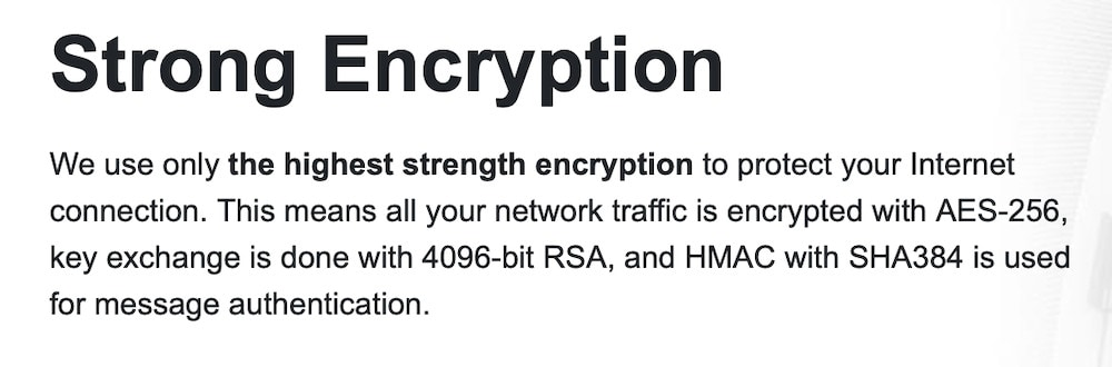 ProtonVPN Encryption