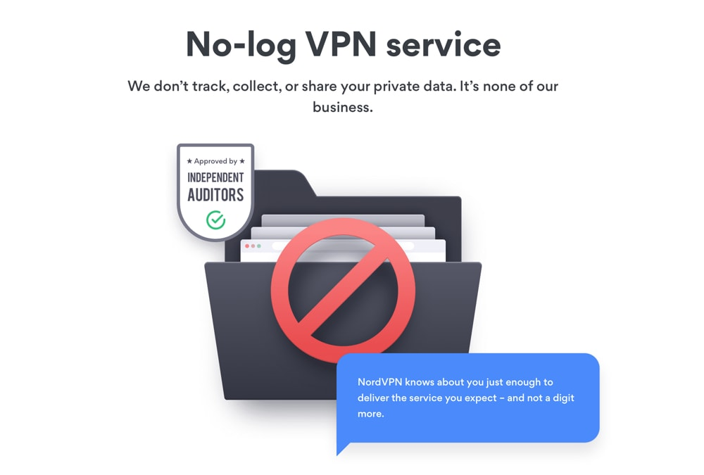 NordVPN Logging Policy Page 1