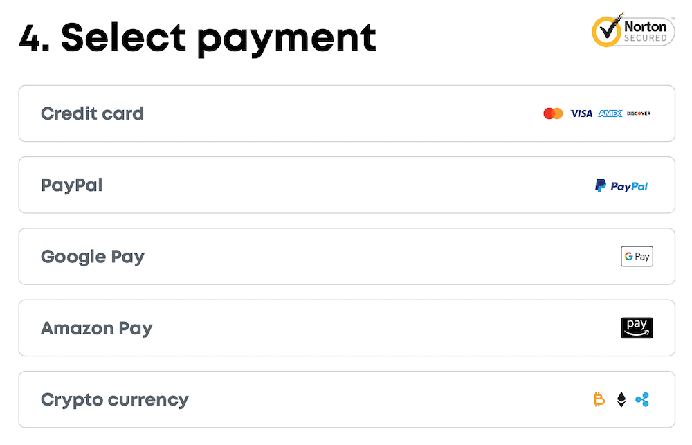Surfshark payments