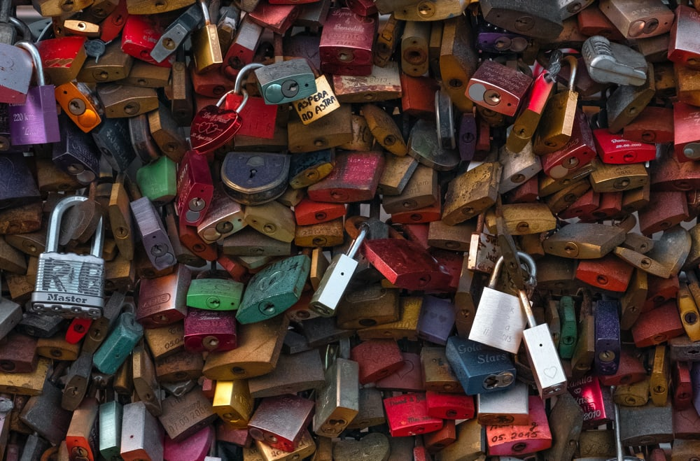 Many, many locks