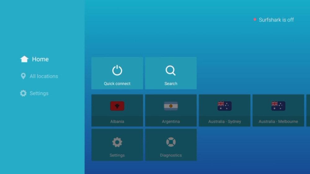 Surfshark App 1