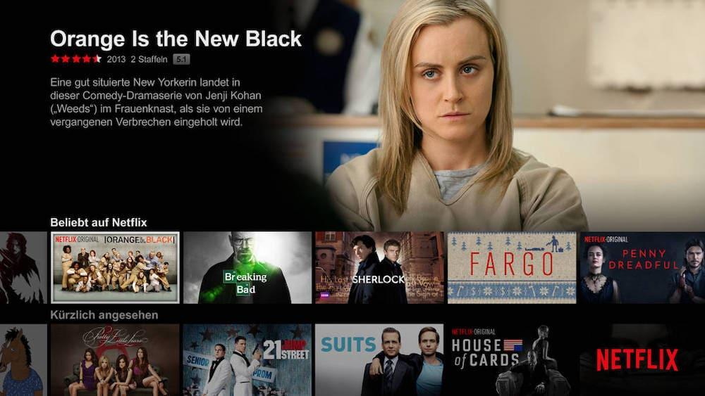 CyberGhost Netflix DE